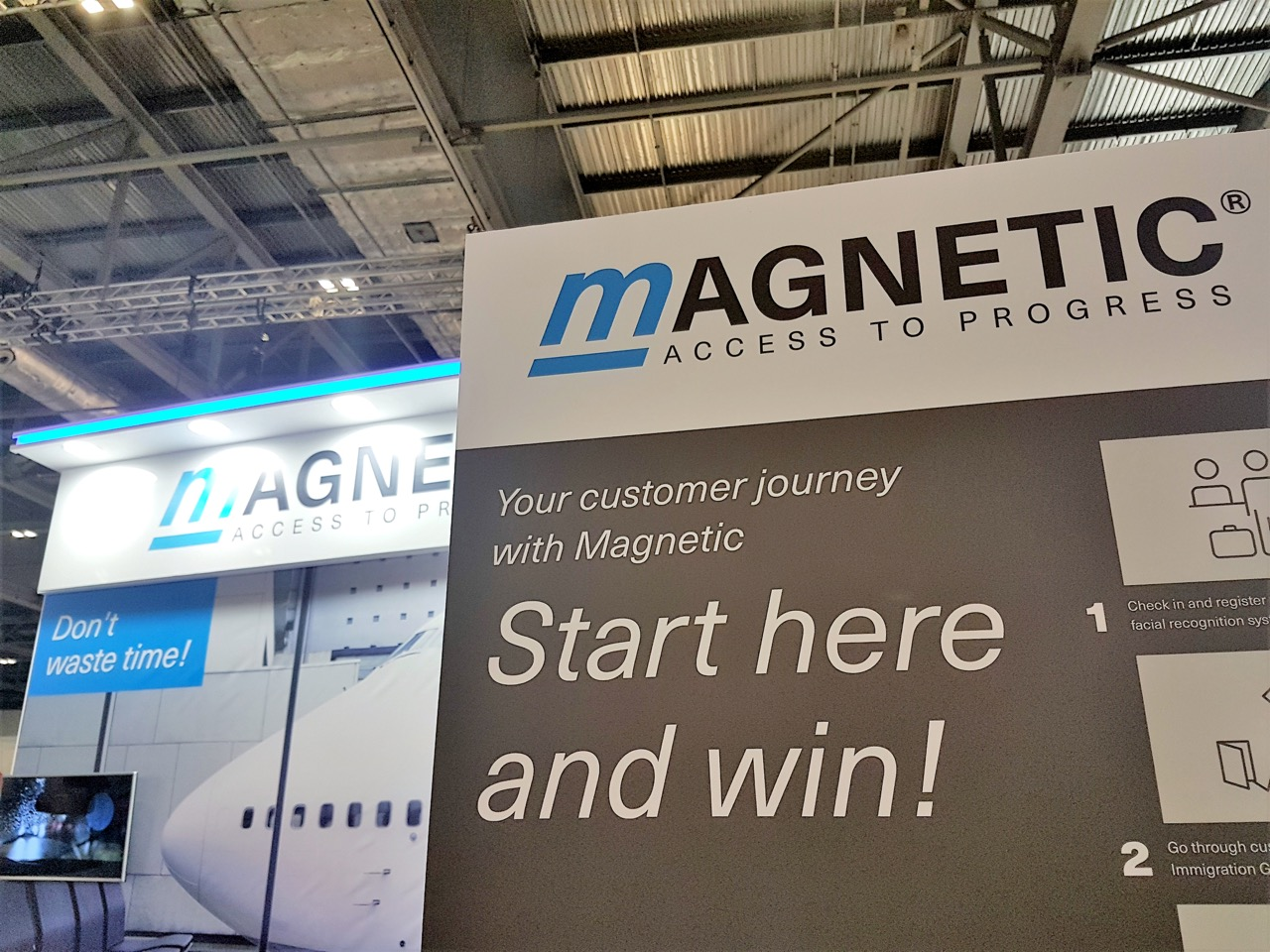 Trade fair review: Magnetic at the Passenger Terminal Expo 2019 in