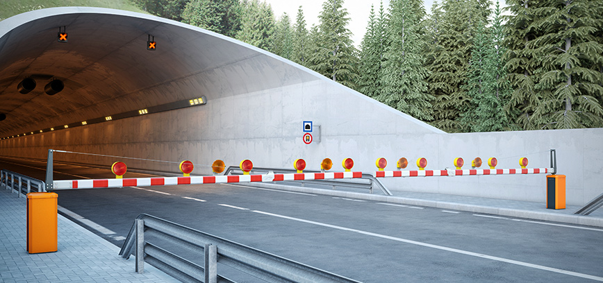 Traffic Barrier Quot Traffic H1 Quot For Tunnel And Road Closure